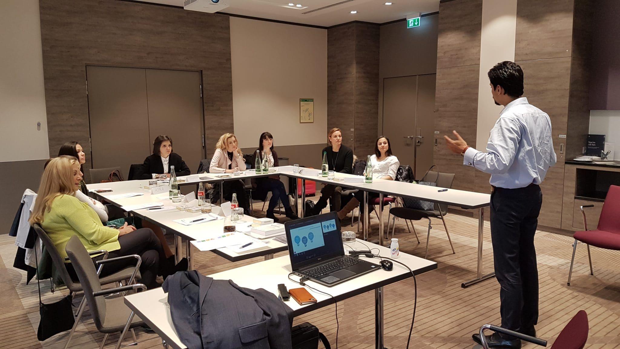 Führungskräfte Training: Live mit Kishor Sridhar zu Digitalisierung und Change