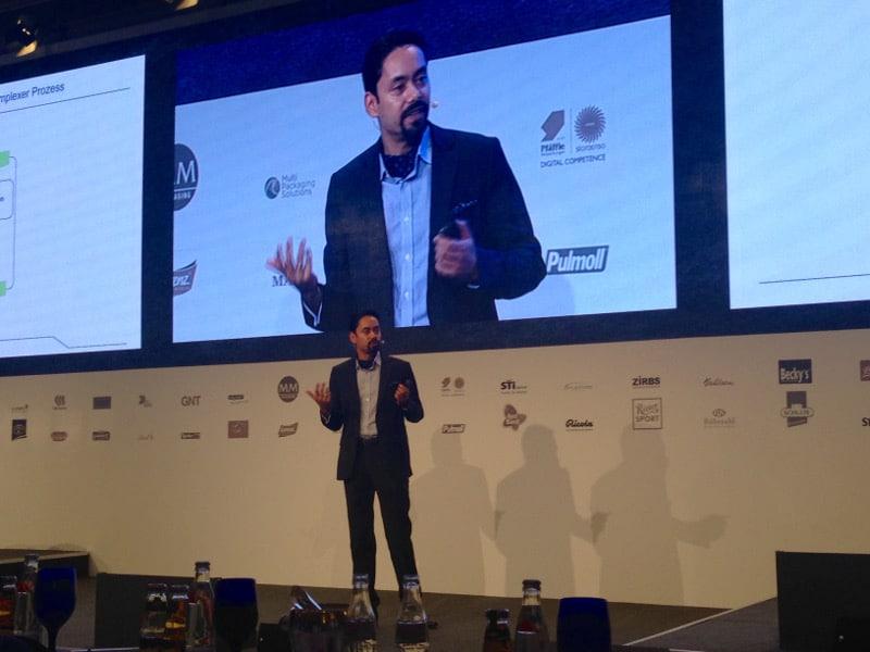 Keynote Speaker Kishor Sridhar zu Digitalisierung, Change und Führung