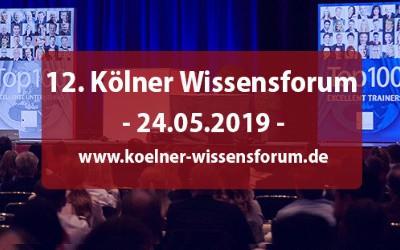 12. Kölner Wissensforum